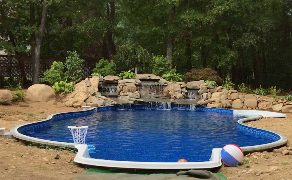 Inground swimming pool nj american pools in kenvil nj - Inground swimming pools new jersey ...
